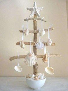 Alberi di Natale originali - Albero di legno e stelline