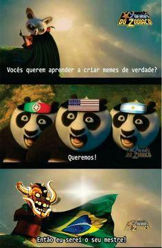 Brasil mita quando o assunto é memes