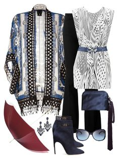 """twenty 'Bamboo Breeze' Tunic #2"" by polyvore4leah ❤ liked on Polyvore featuring Alexander McQueen, Anna Sui, STELLA McCARTNEY, Twenty, The Row, Jose & Maria Barrera, Sergio Rossi, Tory Burch and Bloomingdale's"