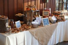 Wedding Pie Table | pie table. : wedding cake inspiration pie reception rustic I JFf5hvn L
