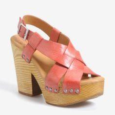 Kork Ease Pink Heels