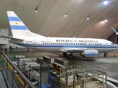 Argentine Air Force Boeing 737-5H6