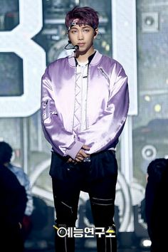 Rap Monster ❤ BTS At Music Core~ (170225) #BTS #방탄소년단