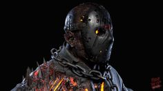 The hellish new Jason designed by Tom Savini for the Friday the 13th game