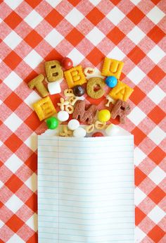 Back-to-School Alphabet Snack Mix