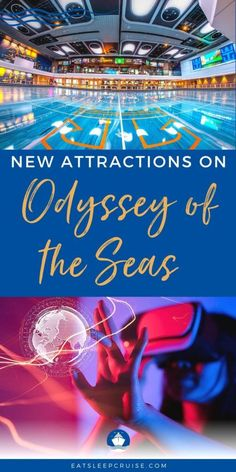 Brand New Virtual Reality Attraction Coming to Odyssey of the Seas - Royal Caribbean just announced a brand new virtual reality attraction coming to Odyssey of the Seas when the ship debuts this summer from FL! Cruise Checklist, Cruise Tips, Cruise Vacation, Royal Caribbean Cruise Deals, Royal Caribbean International, Liberty Of The Seas, Cruise Pictures, Harmony Of The Seas, Cruise Reviews