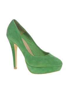 ASOS POPPET Platform Suede Court Shoes - StyleSays
