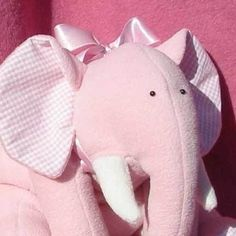 Sew an Indian elephant :: Free soft toy sewing pattern