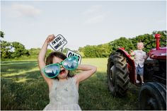 Tractor photo booth