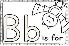 "FREEBIE letter ""B"" book --A KIndergarten Lifestyle"