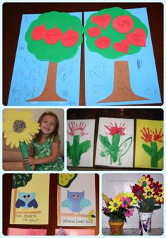 Grandparents Day Craft Ideas Collage