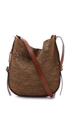 Michael Kors Santorini Cross Body Bag in Brown | Lyst