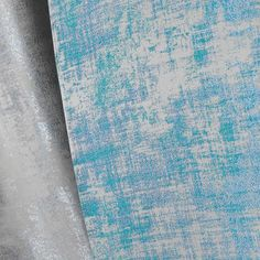 Metallic Silver Curtains and Blue Atoll by Fibre Naturelle Miami Collection http://www.fibrenaturelle.com/fabric-collections/miami