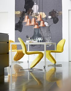 Verpan collection displayed in a cozy lifestyle way.  See more at www.verpan.com