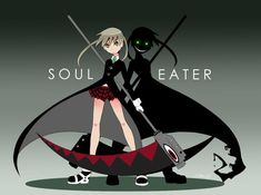 the black blood shadow :( makes me kinda sad that Soul, Crona and Maka have to deal with that:( STUPID MADUSA!!