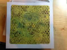 Barbara Gray's Blog. One Day at a Time.: Fancy a Gelli Sandwich?- creating layers, letting them dry and pulling all together