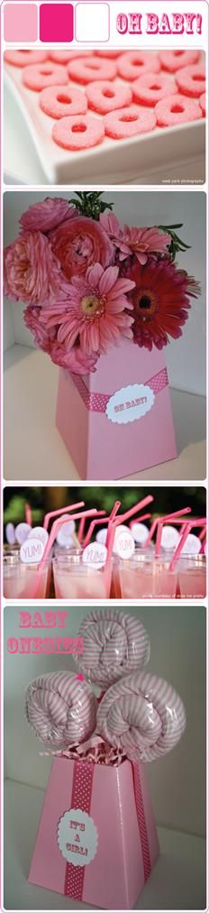 girl baby shower ideas : I like the pink donuts idea Girl Baby Shower Decorations, Baby Shower Themes, Baby Boy Shower, Baby Shower Gifts, Baby Gifts, Shower Ideas, Baby Showers, Pearl Bridal Shower, Baby Girl Images