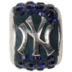 New York Yankees Premier Bead Charm - Fanatics.com
