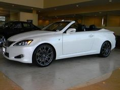 Maybe I need this!?  Lexus IS Convertible
