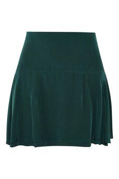 Isabel Marant Satchel Silk Crepe De Chine Mini Skirt 2015 fashion trend