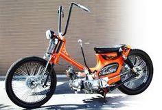 「street cub honda bulat」の画像検索結果 Moped Motorcycle, Moped Scooter, Moto Bike, Motorcycle Outfit, Honda Motorbikes, Honda Scooters, Motor Scooters, Custom Moped, Custom Motorcycles