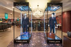 Ted Baker Retail Interior | House Of Fraser, London, 2014 by Millington Associates