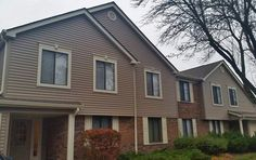 New siding installed on a multi-family property. #hoa #multifamily #siding #roofing