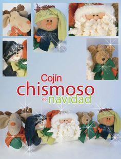 Moldes o patrones para elaborar hermosos muñecos navideños ALBUM 33 WhatSap…