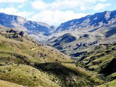 Lesotho is the highest country in the world, a tiny spec in Southern Africa whose lowest point is 1,400 metres(about 4500) above sea level, the highest low point of any country. Despite being completely surrounded by South Africa its isolated mountainous location has enabled it to avoid western influences on their culture.
