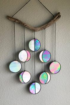 Handmade moons for your walls