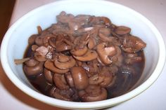 Outback Steakhouse Sauteed Mushrooms. Photo by looneytunesfan