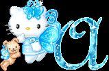 Alfabeto animado de Hello Kitty Hada.