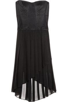 April mesh and chiffon dress