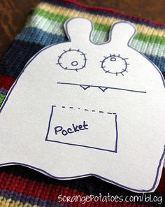 Monster Patterns Free | soothing gremlin softie (free pattern) - 5 Orange Potatoes | 5 Orange ...