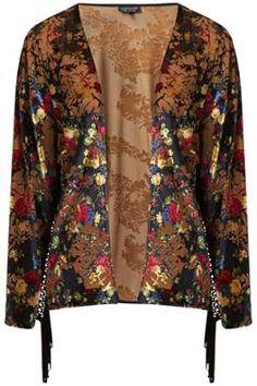 Floral kimono- topshop