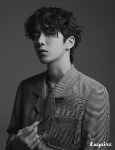 Nam Joo Hyuk is stylish & dandy in 'Esquire' Korea! - Nam Joo Hyuk is stylish & dandy in 'Esquire' Korea! Kim Joo Hyuk, Nam Joo Hyuk Cute, Jong Hyuk, Nam Joo Hyuk And Lee Sung Kyung, Cha Eun Woo, Asian Actors, Korean Actors, Love 020, Hot Guys