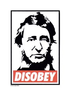 Henry David Thoreau / Civil Disobedience t shirt by -This might have to go on my next birthday want list. Henry David Thoreau, Civil Disobedience, Bees Knees, American, Illustration, Literature, Street Art, Spirituality, Peace