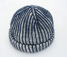 Over 200 Free Hat Knitting Patterns - Free Knitted Patterns - Click On Photo For PDF Pattern - (allcrafts)