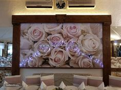 exclusive lighting in the wedding hall  www.e-technologia.pl