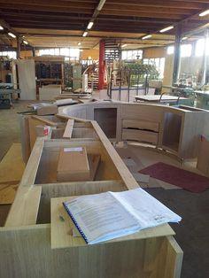 Voorbereiding in de fabriek