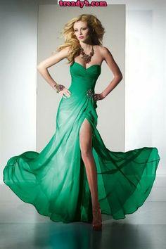 Italian long evening dresses - Best dress image
