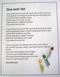 """Great for measurement lessons. Can be used with Leo Lionni's book """"Inch by Inch."""""""