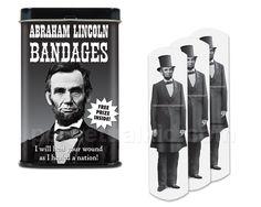 ABRAHAM LINCOLN BANDAGES