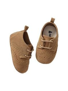 Suede brogue shoes, Gap