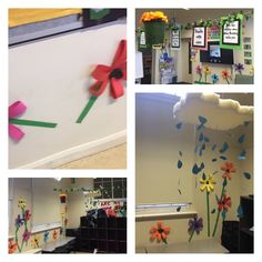 'how does your garden grow' classroom theme and display