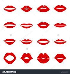 Resultado de imagen para lips vector