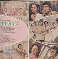 Jazbaat 1980 Bollywood Vinyl LP