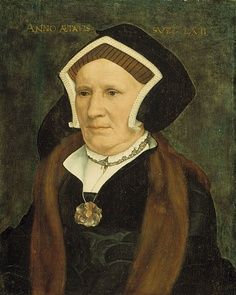 Northern Renaissance portrait paintings | Hans Holbein the Younger's Portrait of Lady Margaret Butts, wife of ...