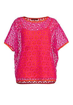 APART Spitzenbluse im Ackermann Online Shop #fashion #summer Orange, Blouse, Sweaters, Shopping, Tops, Glow, Women, Garden, Summer