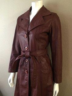Vintage Apparel Ladies 80's Leather Jacket by Freshandswanky